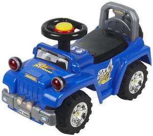 [Amazon-Prime] Chipolino CHIPROCSU1401BL - Geländewagen Kinderauto Ride On, blau