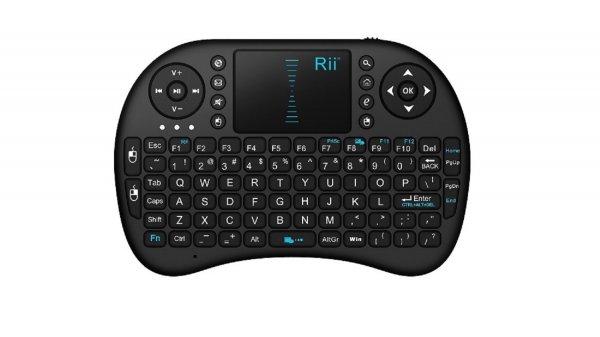 Rii mini i8 Wireless Mini Tastatur für Smart TV, Fire TV, Pi oder Mini PC bei Aliexpress für 5,96€
