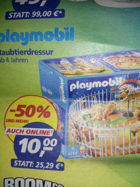 Playmobil Raubtierdressur 10€ - REAL 50 Jahre