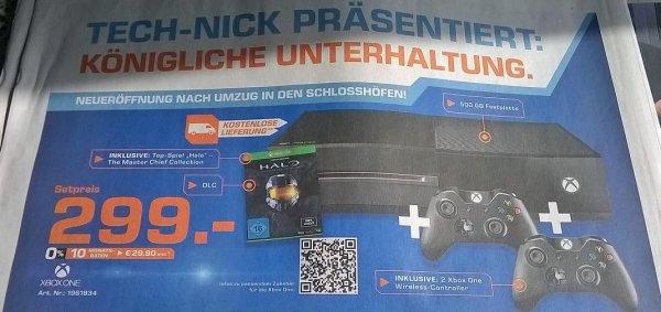 [Lokal Saturn Oldenburg ]Xbox One + Halo Masterchief + 2. Controller