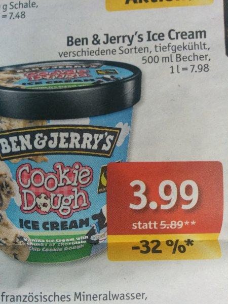 [Lokal] Ben&Jerry,s Eiscreme verschiedene Sorten u.a. Kiel, Lübeck