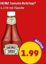 [Penny Markt/Netto Marken-Discount] Heinz Ketchup Sondergröße 1170 ml