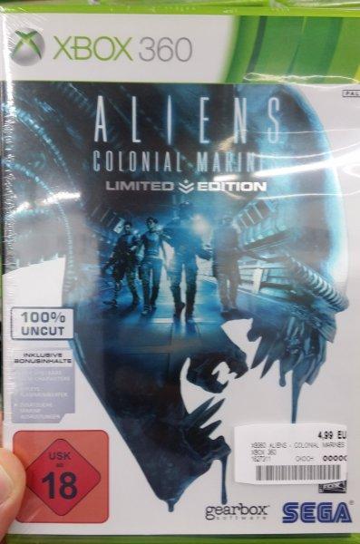 [Media Markt - Freiburg] Alien: Colonial Marines (Xbox 360)