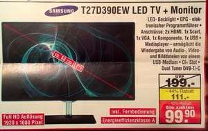 [Lokal OL-Petersfehn] Samsung T22D390EW LED Monitor (Netto)