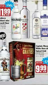 [HIT] Captain Morgan White Rum oder Spiced Gold 9,99€