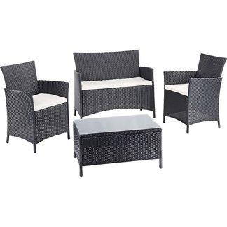Sitzgruppe Gartenmöbel Lounge Set 4-teilig bei Obi