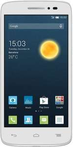 [NBB] Alcatel One Touch Pop 2 LTE (4,5'', 1,2 GHz Snapdragon 410 Quadcore, 1 GB RAM, 8 GB intern, NFC + GPS, Android 4.4) für  72,89€