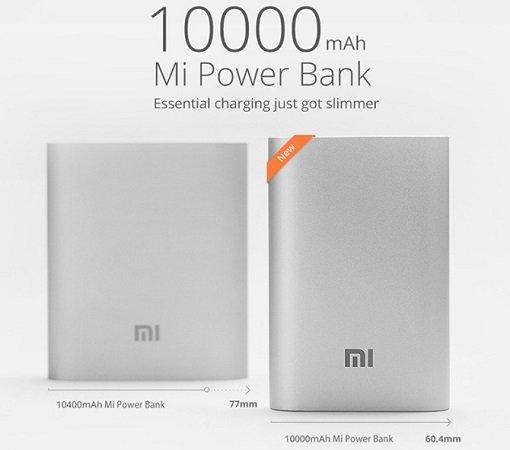 Original Xiaomi Powerbank (2015) 10000mAh 15.50€ @banggood