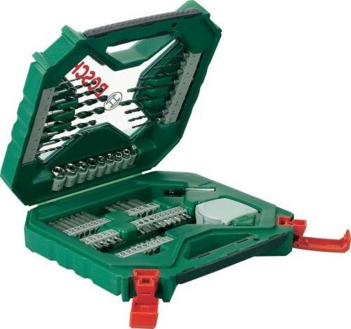 [Ebay Conrad] Universal-Bohrersortiment 65teilig Bosch X-Line (16 Bohrer, 38 Bits, Bithalter, Steckschlüsselsatz 8tlg, Messband) für 14,99