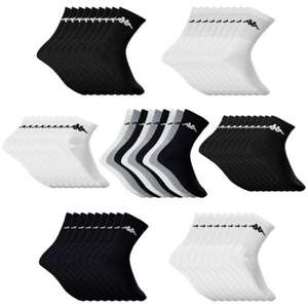 [eBay.de] Kappa 9 Paar Socken unisex Sportsocken Arbeitsocken Tennissocken 35-46