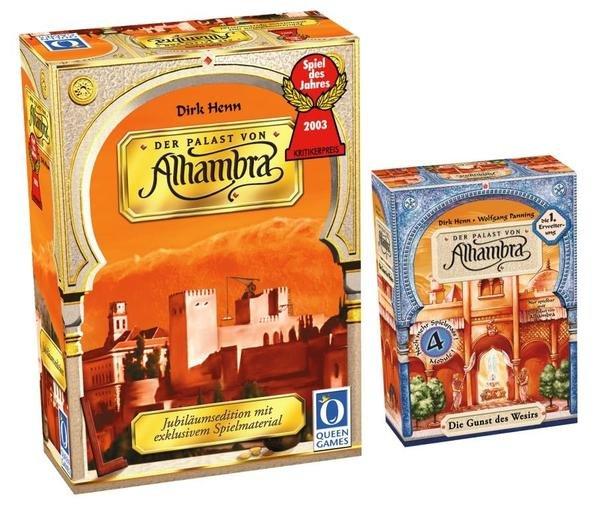"""[Thalia] Brettspiel """"Alhambra Gold"""" + 1. Erweiterung für 17,50€"""