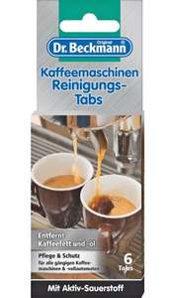 (Kaufland offline) Dr. Beckmann Kaffeemaschinen-Reinigungs-Tabs 6 Tabs für 2.22€