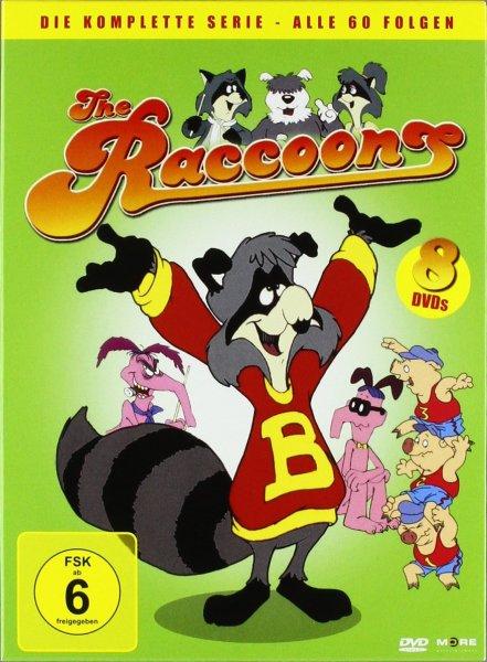 (Amazon.de-Prime) The Raccoons - Die komplette Serie - Alle 60 Folgen 8 DVDs für 19,99€