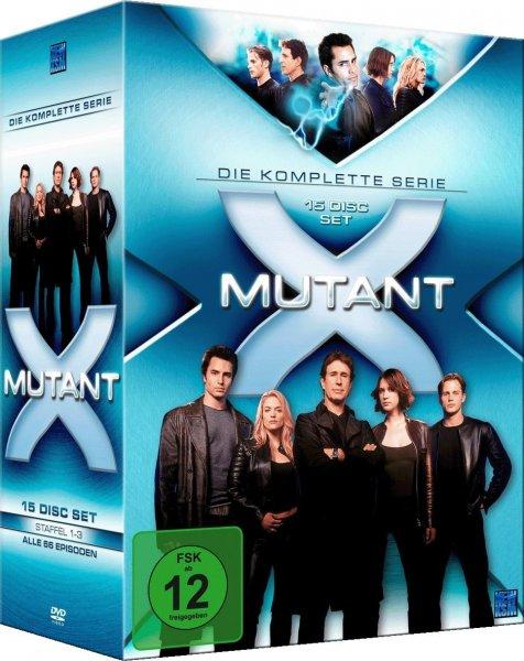 Mutant X - Die komplette Serie (15 DVDs) für 34€ @Amazon.de