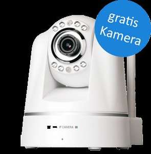 HomeWizard Urlaubsaktion: gratis IP Kamera bei Kauf von HomeWizard Kit