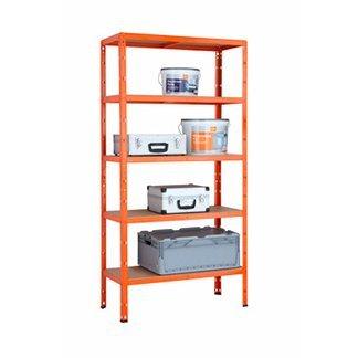 [Obi] Schwerlastregal für 19,99 pulverbeschichtet orange ab heute in der Werbung !