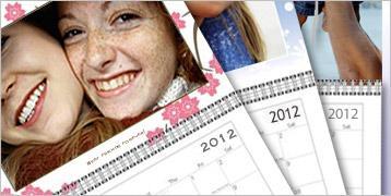 Fotokalender für nur 2,50 zzgl. Versand bei vistaprint.de