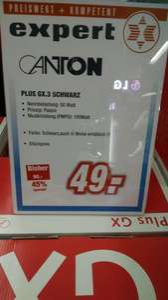 [lokal Bonn expert] Canton Plus GX.3