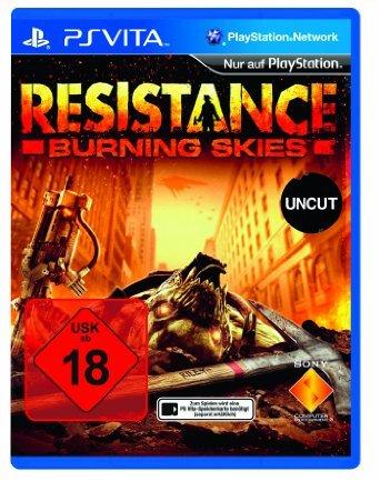[Amazon-Prime] Resistance: Burning Skies - [PlayStation Vita] Uncut