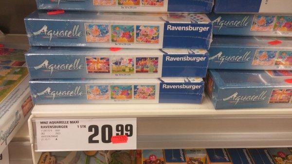 [REWE Bremerhaven] Ravensburger Aquarelle 29463 für 10€ statt 20,99€