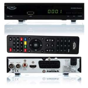 "[WHD ""sehr gut""] Xoro HRK 7560 HD Kabel-Receiver (HDTV, DVB-C, HDMI, PVR-Ready, USB 2.0) [41% unter idealo]"