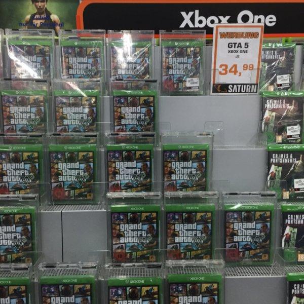 GTA 5 Xbox One für 34,99€