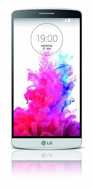 *Amazon Warehousedeals* LG G3 Smartphone (5,5 Zoll) Quad-HD-IPS-Display, 2.5-GHz-Quad-Core-Prozessor, 13-Megapixel-Kamera, 16 GB Speicher, Weiß