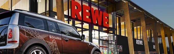 DriveNow: 5% Rabatt bei Rewe + 10 Freiminuten