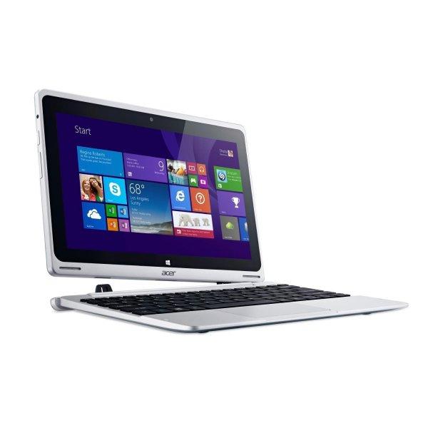 Acer Aspire Switch 10 - Intel Z3745F 4x 1.33GHz, 32GB Speicher, 2GB RAM, 10,1 Zoll IPS, Windows 8.1, KeyboardDock - 259€ - ebay/cyberport