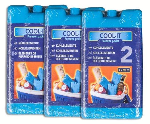 12 Kühlakkus 220 ml (6x2er oder 4x3er Set)