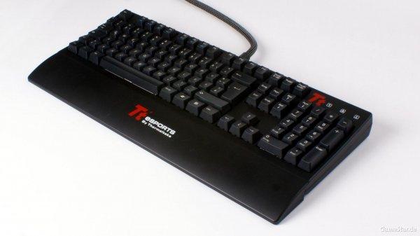 """Tt eSPORTS mechanische Tastatur MX Black """"MEKA G1"""" für 59,85 €, @ZackZack"""