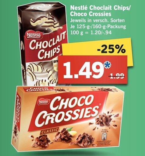 [Lidl] Choco Crossies für 1,49€ + myphotobook Gutschein