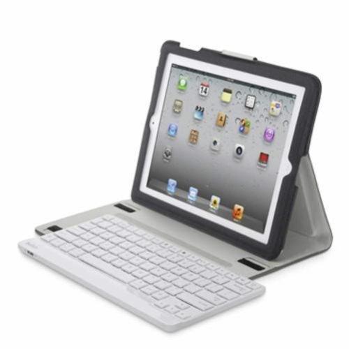 Belkin F5L144DEWHT Etui mit abnehmbarer Bluetooth Tastatur iPad 2nd 3rd 4th @ebay.de für 16,99