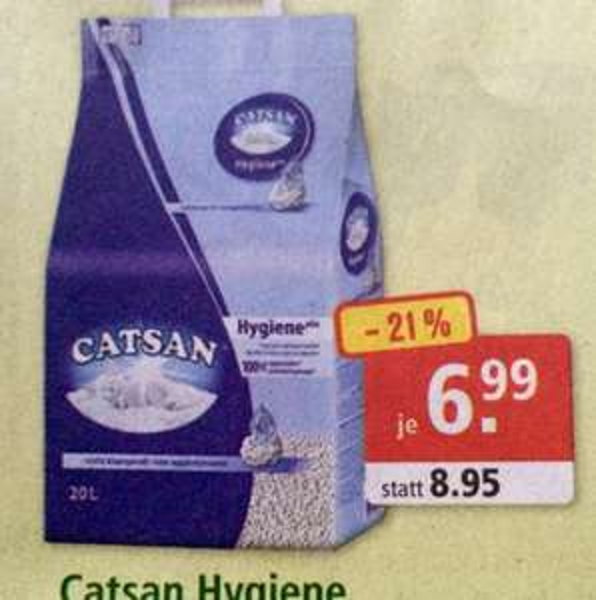 Catsan wieder 6,99€ bei Fressnapf inkl. Versand