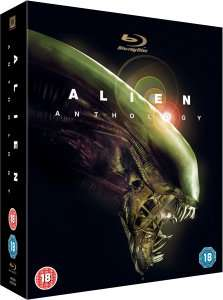 Alien Anthology Box (Blu-ray) für 14€ @Zavvi.com