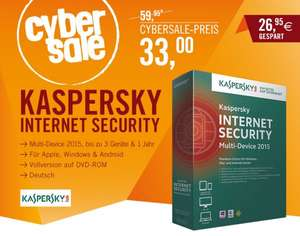 Kaspersky Internet Security 2015 Multi Device 2015 f. 3 Geräte (Cyberport)