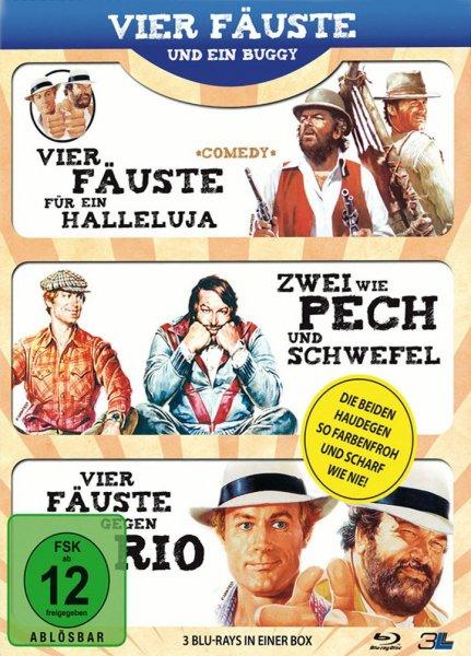 [Blu-ray]  Vier Fäuste und ein Buggy (3 Filme) @ Mueller.de