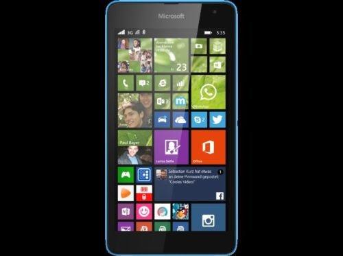 [eBay Saturn] Microsoft Lumia 535 grün,orange, schwarz und cyan ab 76,50€ mit PayPal