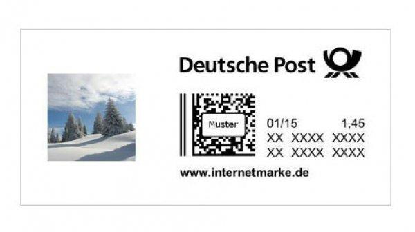 [Ebay/depar24_de] 1,45€ Briefmarke (Internetmarke) für 1,25€