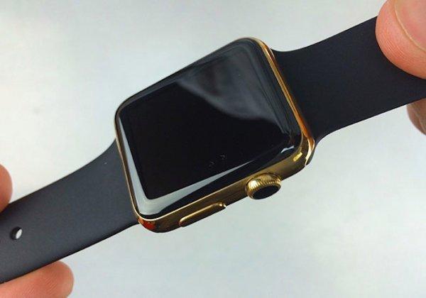 Goldene AppleWatch für USD 115 + Euro 649 (für die Uhr)