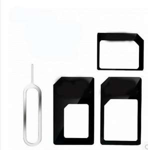 [Aliexpress] Nano Sim Adapter Set aus China 0,17€