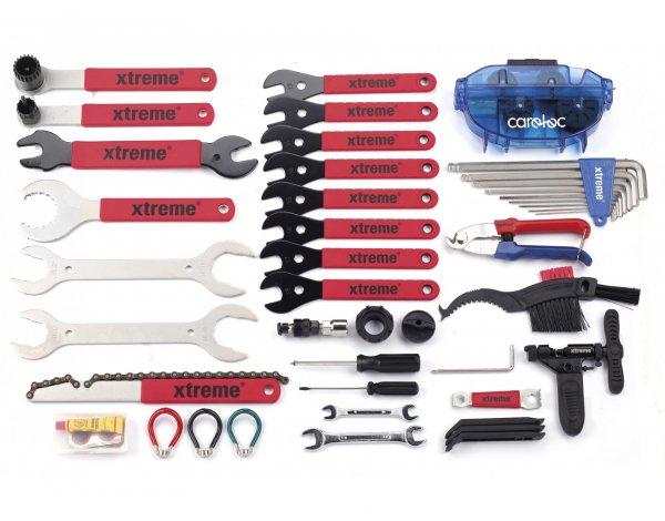 Fahrradwerkzeugset, Rose Xtreme All2gether XL Werkzeugkoffer