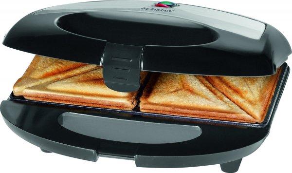 Bomann ST 1363 Sandwichmaker für 8,99€ inkl. Versand @NBB