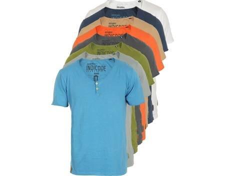 INDICODE Ryan T-Shirt verschiedene Farben für 12,95€