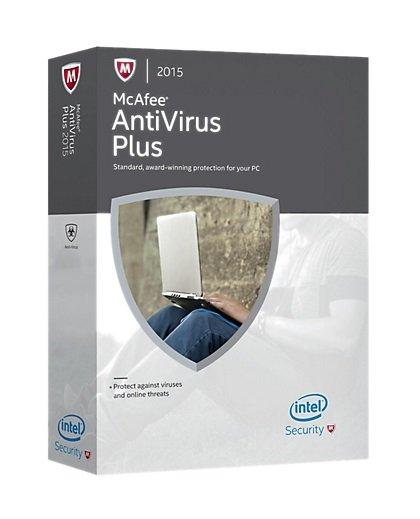 McAfee   AntiVirus Plus 2015  kostenlos für 1 Jahr