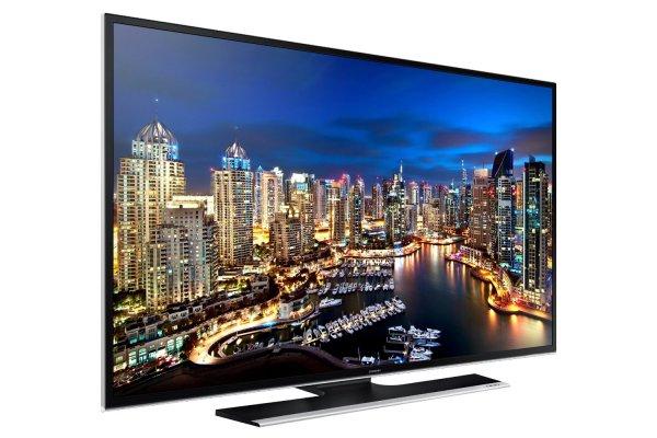 """[Saturn LNS] SAMSUNG UE40HU6900 - 40"""" LED-TV mit 4K, 200 Hz, Triple-Tuner, WLAN, Smart TV, HbbTV, Sprachsteuerung (434 € mit NL-Gutschein), VSK-frei"""