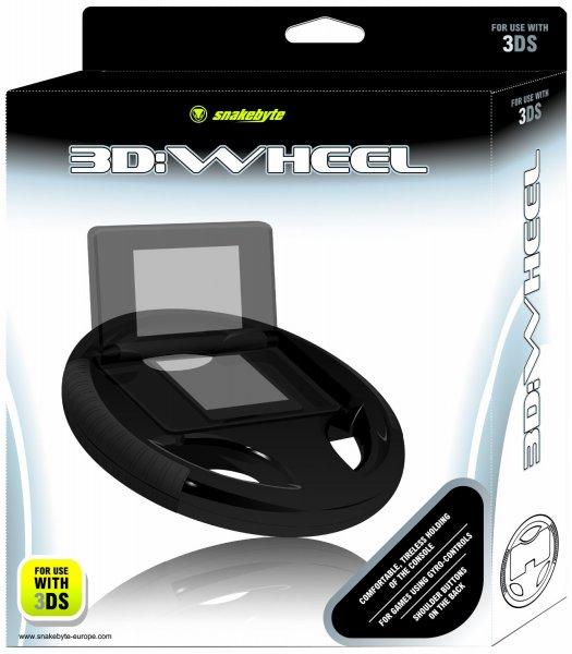 [AMAZON] 3d:wheel - Racing Wheel Handle - [3DS] für 1,99 €