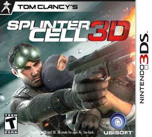 [Coolshop] Nintendo 3ds  Tom Clancy's Splinter Cell 3D