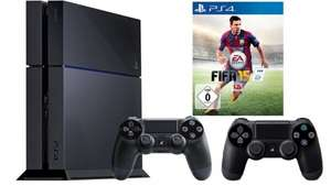 PlayStation 4 + 2. Controller + Fifa 15 (Ebay Saturn Outlet mit Zahlung via Paypal) für 359,10€