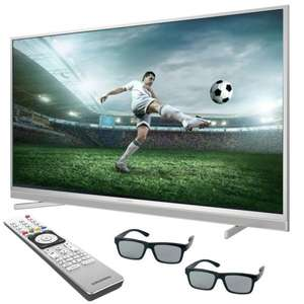 """[Ebay] GRUNDIG VLX 8481 SL  48"""" / 121CM 600HZ HIGH-END ULTRA-HD 4K 3D LED TV FERNSEHER 3840x2160 in Silber,Schwarz oder Weiß für 459,99€ Versandkostenfrei"""